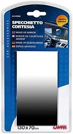 Miroir De Courtoisie Pare Soleil Adh/ésif 130X70cm