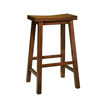 Powell Honey Brown Inch Bar Stool