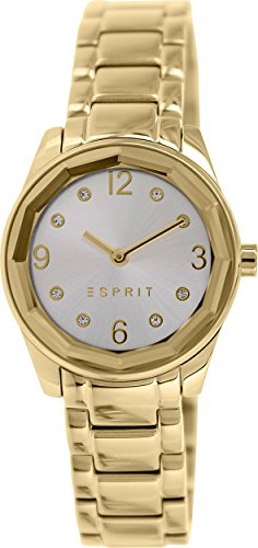 Esprit Women's ES106552007 Gold Stainless-Steel Analog Quartz - Esprit Watch Women Gold