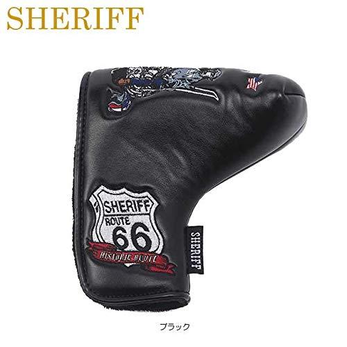 仲良し凝視オッズシェリフ SHERIFF ヘッドカバー アメリカンシリーズ パターカバー