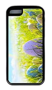 Distinct Waterproof The Cobblestone Rainbow Design Your Own iPhone 5c Case