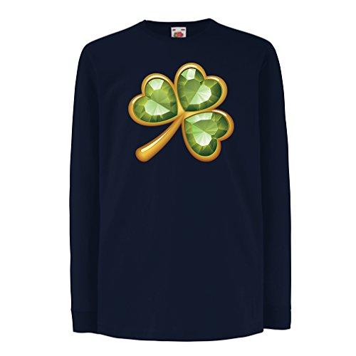 funny-t-shirts-for-kids-long-sleeve-irish-shamrock-st-patricks-day-clothing-3-4-years-blue-multi-col