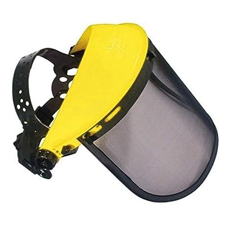 Protector facial para desbrozadora