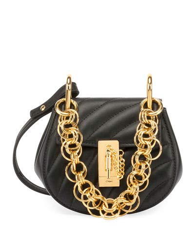 9bdddff4da3c Chloe Mini Drew Bijou Shoulder Bag made in Italy  Handbags  Amazon.com
