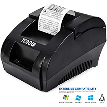 Amazon.com: Thermal Receipt POS Small Printer 80mm Bluetooth ...