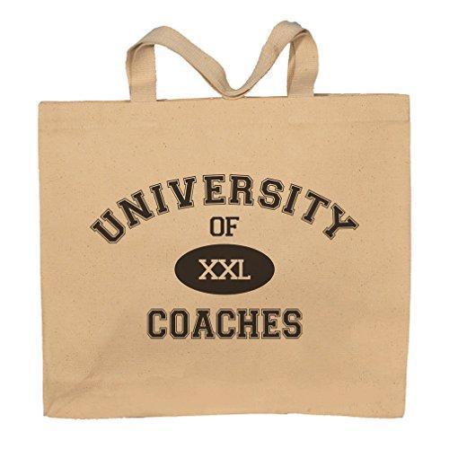 University Of XXL Coaches Totebag Bag by T-ShirtFrenzy