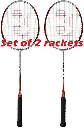 Yonex B-350 Badminton Racquet / Racket (Set of 2 Rackets)