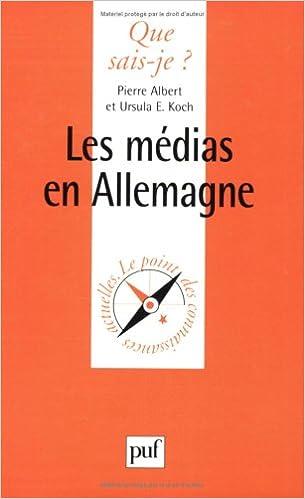 Lire Les Médias en Allemagne epub, pdf