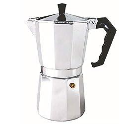 32gagwwc 50/150/300ml Portable Stovetop Coffee Maker Aluminum Pot Mocha Espresso Percolator Kettle Espresso Pot For 1-6 Cups, Moka Pot With Aluminum 50ml