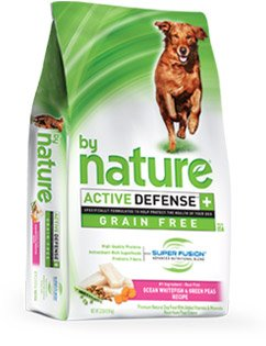 By Nature ACTIVE DEFENSE+ Ocean Whitefish & Green Peas 3.8 Pounds