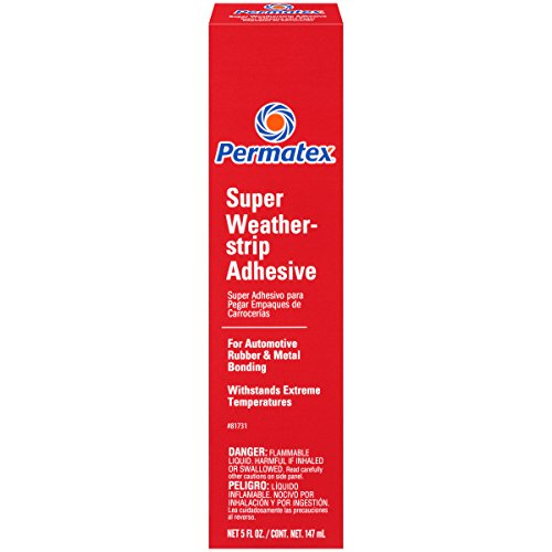 (Permatex 81731 Super Weatherstrip Adhesive, 5 oz.)