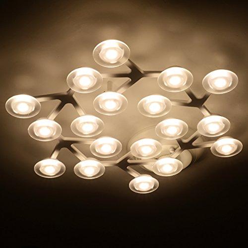 BLYC  18, Nordic, Einfachen, Modernen Stil Wohnzimmer Lampe Führte Decke  Lampe Schlafzimmer Den Länglichen Kreative Restaurant Beleuchtung 530mm ...