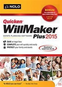 QUICKEN WILLMAKER PLUS 2015 (WIN XP,VISTA,WIN 7,WIN 8)