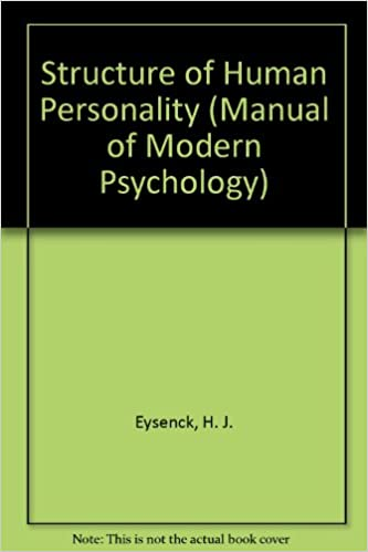 Structure of Human Personality (Manual of Modern Psychology)