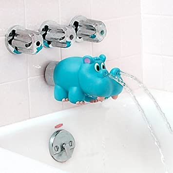 Amazon.com : Nuby Hippo Water Spout Cover in Blue : Baby