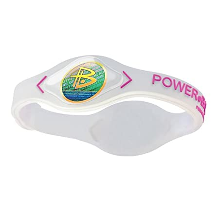 Power Balance Silikon Wristband, clear / pink, M, GWSA09CL00PKMP