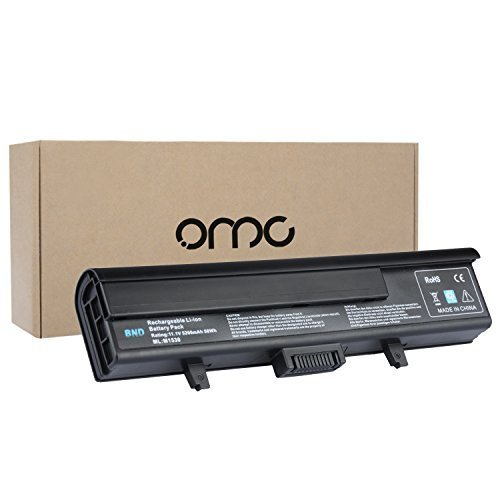 OMCreate Laptop Battery for Dell XPS M1530 / Dell XPS 1530 , fits P/N TK330 RU006 GP975 XT828 XT832 RN897 RU028 RU030 RU033 - 12 Months Warranty [6-Cell Li-ion] (Battery For Dell Xps M1530 compare prices)