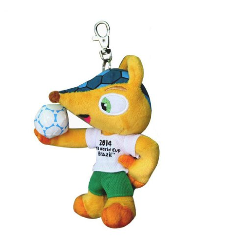 - Fuleco 13cm FIFA World Cup 2014 Plush with Keychain