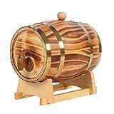 20 Liters Oak Storing Barrel Built-in Aluminum Foil Liner for Storing Your own Whiskey, Beer, Wine, Bourbon, Brandy, Hot Sauce & More 1.5L