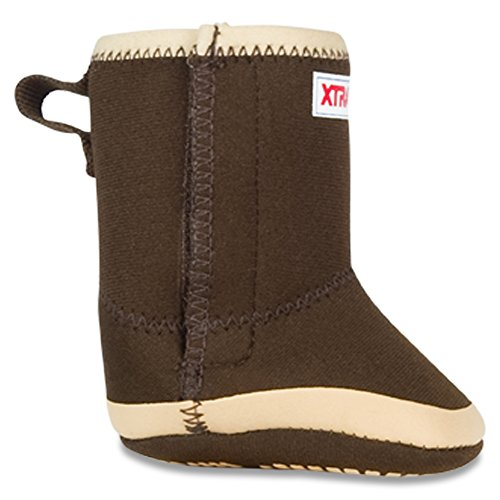 XTRATUF Legacy Series Kids Baby Booties, Copper & Tan (21192B) - Image 5
