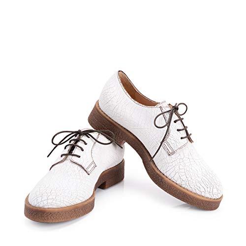 donna P027 allacciata S65075 Jo scarpa liu Bianco 6qxwpUS5