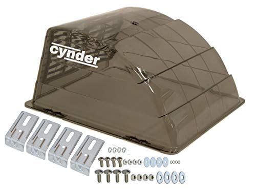 Cynder 02032 Universal Roof Vent Cover RV Camper Trailer RV Motorhome (Smoke)