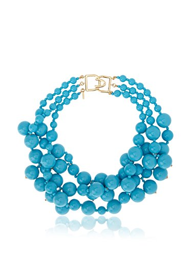 Kenneth Jay Lane Women's 5079NT Necklace Turquoise Strand Necklace