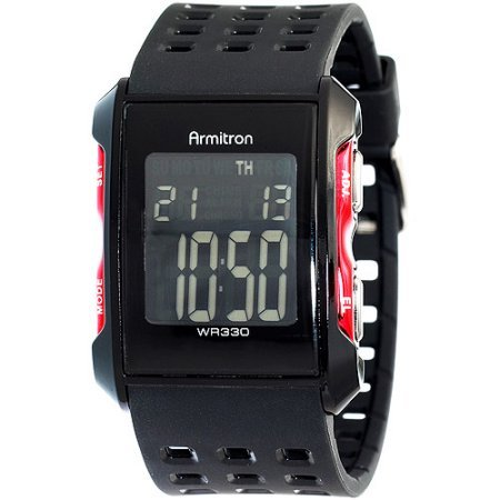 armitron-40-8177red-mens-square-digital-watch-synthetic-material
