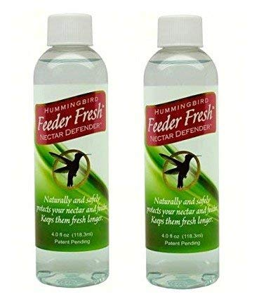 Sapphire Labs SLHFF Hummingbird Feeder Fresh Nectar Defender (2 pk) ()