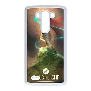 LG G3 Cell Phone Case White Child of Light Aqtyi
