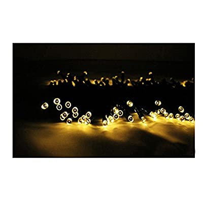 MCZTEN Solar Christmas Lights 72ft 22m 200 LED 8 Modes Solar Fairy String Lights for Outdoor, Gardens, Homes, Wedding, Christmas Party, Waterproof