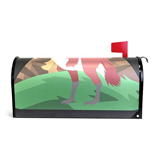 GAGH Mailbox Cover Magnetic Personalized Prehistoric Bird Suitable for US Mailbox