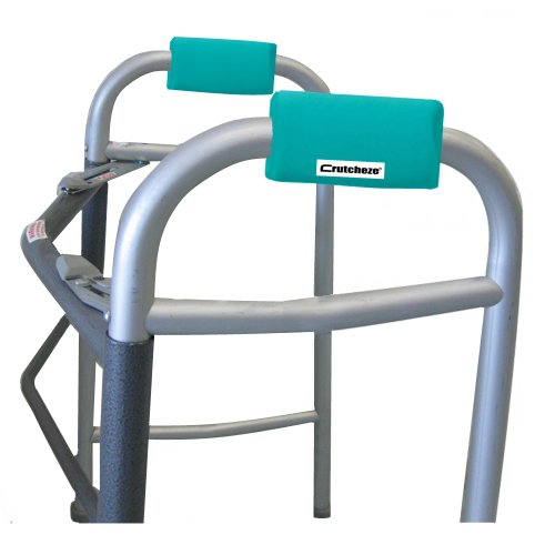Crutcheze Turquoise Walker Padded Hand G - Walker Grip Covers Shopping Results