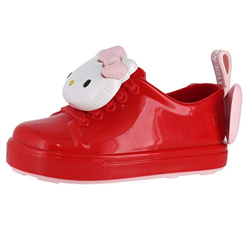 Mini Melissa Be+ Hello Kitty Red Infant Girls Sneakers Size 7M
