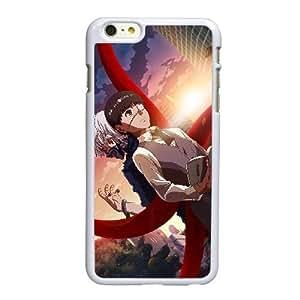 Tokio Ghoul S5U14H8FN funda iPhone 6 6S más la caja de 5,5 pufunda LGadas funda 1OIYM1 blanco