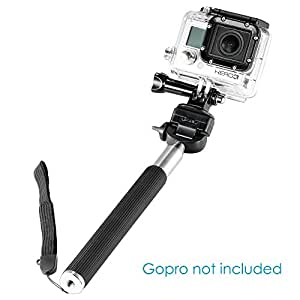"""Neewer® 42.5""""/108cm Telescopic Handheld Self-portrait Extendable Monopod Selfie Stick with Adjustable Cellphone Mount Holder for iPhone 6 Plus 6/5s/5/4s/4, Samsung Note 4/3/2/s3/s4"""