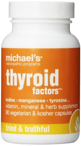 Naturopathic programas tiroides de Michael factores suplementos nutricionales, cuenta 90