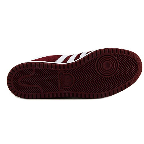 Adidas Originals Mens Topp Tio Hi Basketsko Kollegialt Vinröd / Vit / College Vinröd