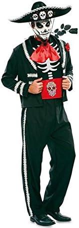 Disfraz de Novio del Día de los Muertos Negro para hombre: Amazon ...