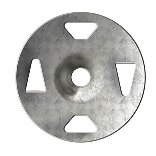 Schluter KERDI-BOARD-ZT - Galvanized Steel Washer - 1-1/4'' Diameter - Quantity: 1000