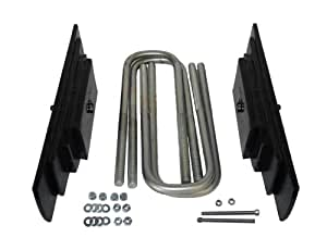 "Traxda 107010 2"" Front Leaf Spring Leveling Kit for 1999-2004 Ford F-250/350 and Excursion 4x4"""