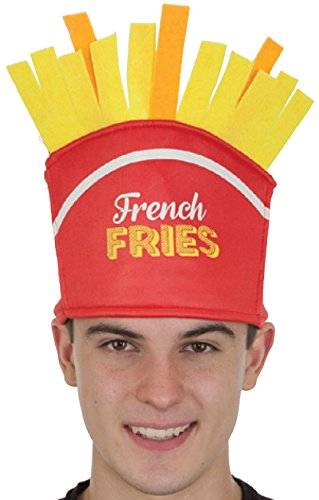 Kid Fry French Costume (Jacobson Hat Company French Fries Novelty Food)