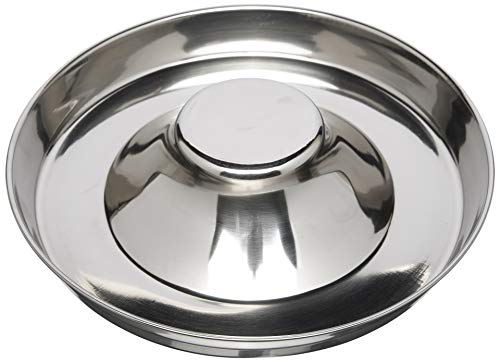 QT Dog Puppy Stainless Steel Saucer, 11