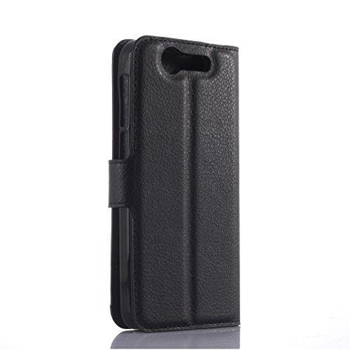 Funda ZTE BLADE S7,Manyip Caja del teléfono del cuero,Protector de Pantalla de Slim Case Estilo Billetera con Ranuras para Tarjetas, Soporte Plegable, Cierre Magnético B