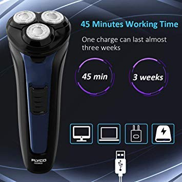 Electric Razor for Men,FLYCO Electric Shavers 2 in 1 Mens Wet & Dry Electric Razors for Shaving Elec - http://coolthings.us