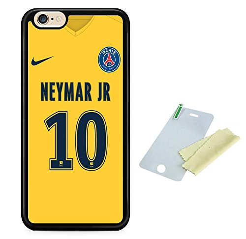 Coque silicone BUMPER souple IPHONE 5c - Football PSG paris st germain motif 2 DESIGN case+ Film de protection OFFERT