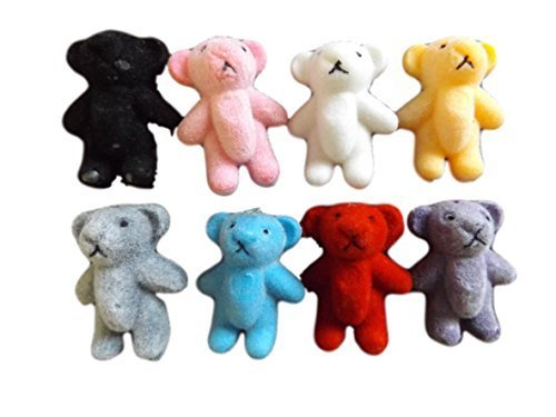 5-or-10-small-tiny-felt-miniature-dolls-house-craft-teddy-bears-1-12th-scale-various-colours-14-by-f
