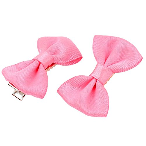SODIAL(R) Pet Cat Dog Hair Grooming Hairpin Headdress Barrette Clip Pink 5 (Tiffany Barrette)