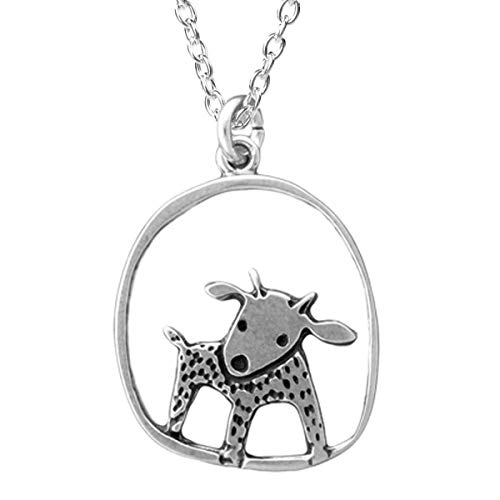 - Sterling Silver Goat Necklace on 18