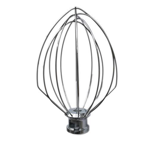 Gooyoou K5AWW Wire Whip for Tilt-Head Stand Mixer for KitchenAid K4, K5, KP50, KSM5, KSM50, KSM500PS, KSM450,WPW10731415 ()